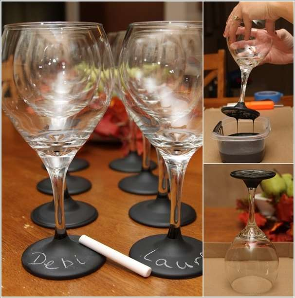 Wine Glass Design Ideas artistic wine glass painting ideas 6 2