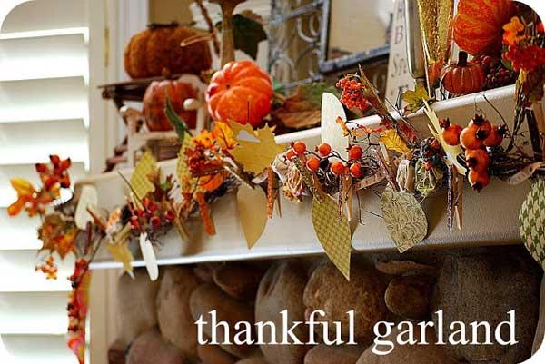 3. Thankful Garland