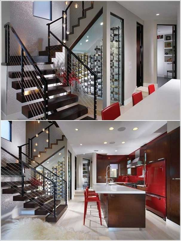 20 Smart Under Stairs Design Ideas: 10 Ideas To Design And Use Under The Stairs Space