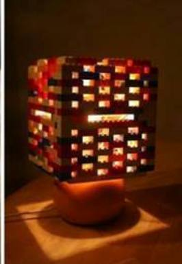 Here Is Your Cool Lego Lamp   Copy
