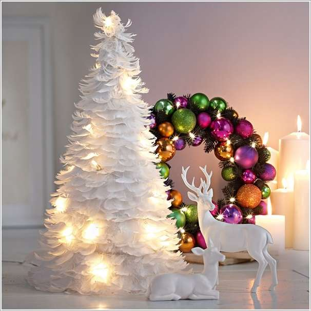 15 unique and creative christmas tree ideas Creative christmas trees to make