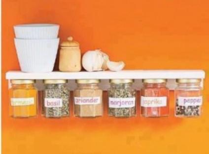 5.Enjoy in your organized kitchen shelf