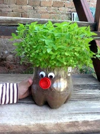 5.Here is your super fun planter