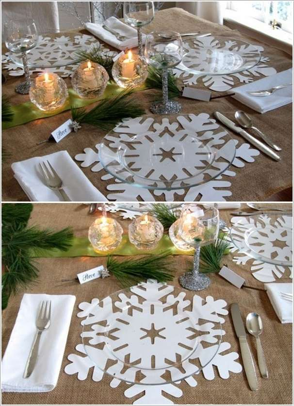 10 Amazing Decoration Ideas Using Paper Snowflakes