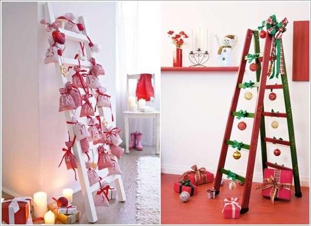 13 ingenious ladder use and decoration ideas - Echelle decorative bambou ...