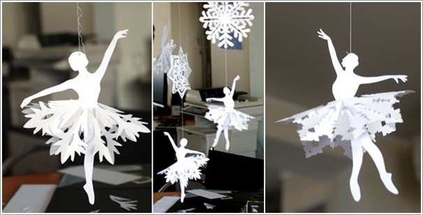 10 amazing decoration ideas using paper snowflakes for Cool paper decorations