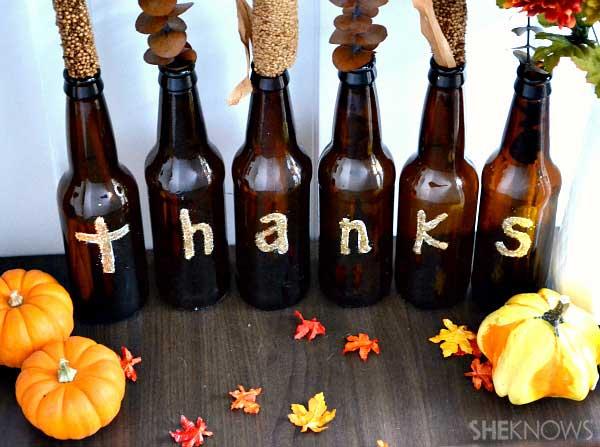 9.Thankful Bottles