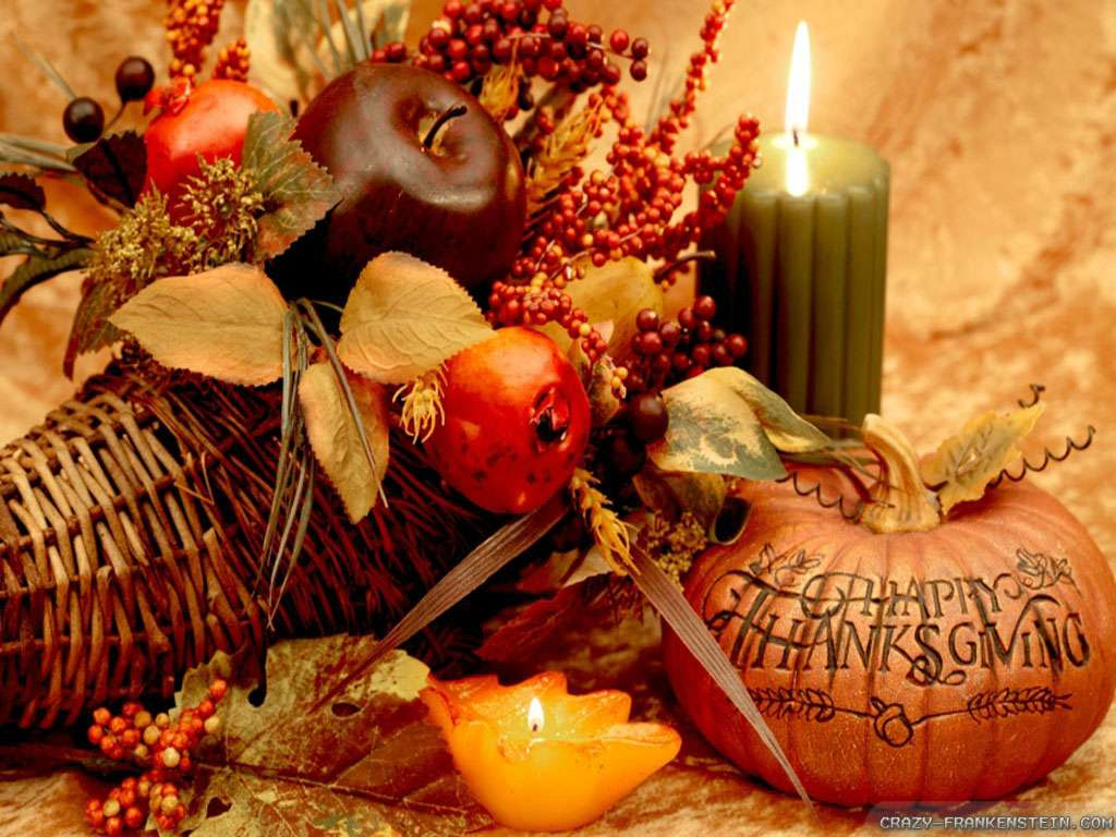 Traditional Thanlgiving Centerpiece