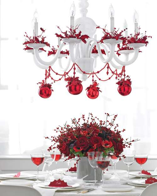Christmas Chandeliers Can Make The Perfect House Decorations