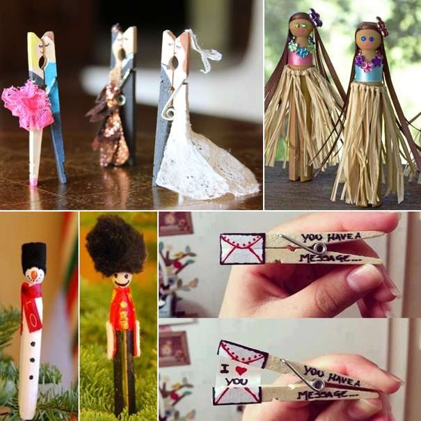 15 Creative Reuse And Recycle Ideas For Interior Decorating: 15 Creative Clothespin Crafts You Will Love To Try