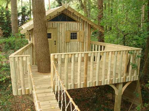Simple tree house ideas that can be easy for you to create for Treehouse designers
