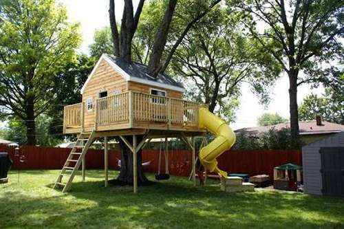 tree house ideas simple
