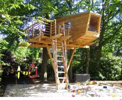 Design simple tree house ideas that can be easy for you to create