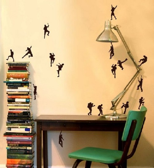 creative wall art can brighten up your home