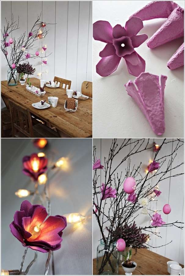 Diy Floral String Lights : 10 Amazing String Lights DIY Decorating Ideas