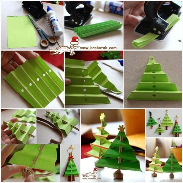 10 miniature tabletop christmas tree ideas