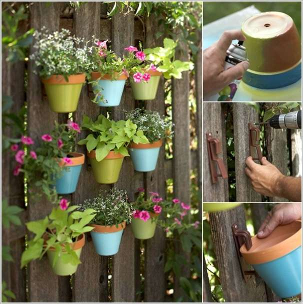 10 awesome decoration ideas with clay pots for Art and craft pot decoration
