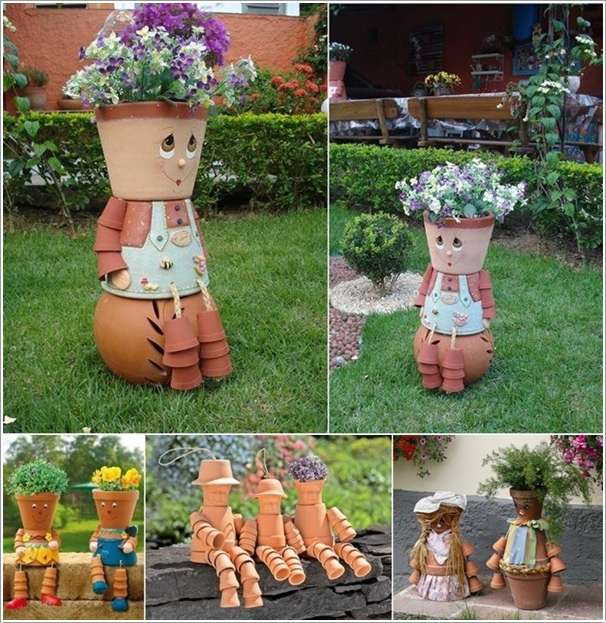 Amazing Interior Design 10 Awesome Decoration Ideas with Clay Pots