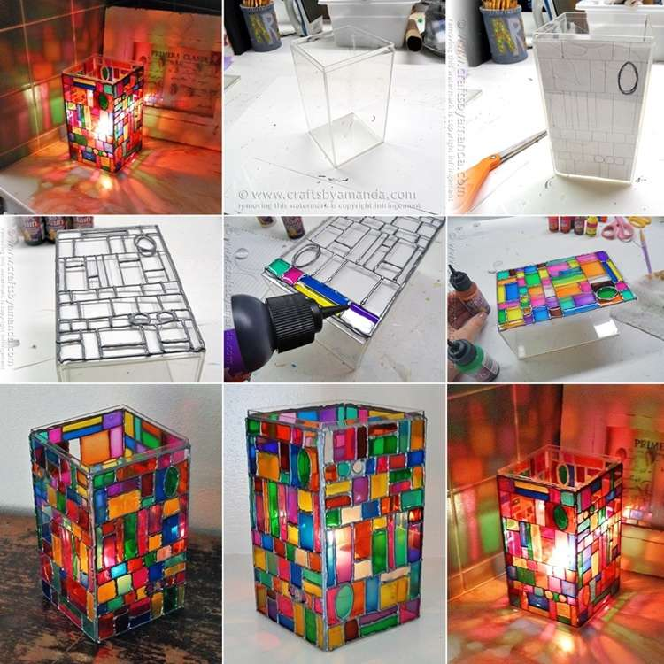 Fabulous Stained Glass Lamp To Decorate Your Home