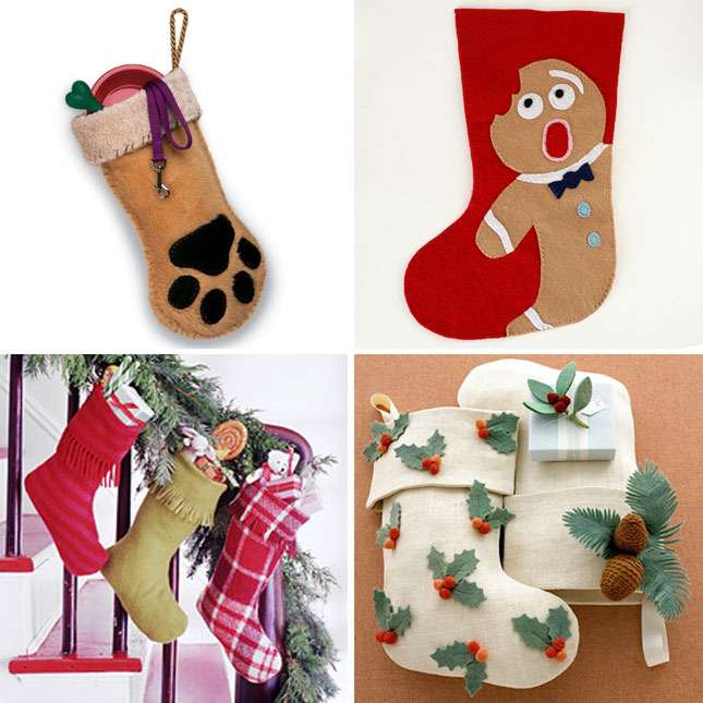 How To Make Your Own Diy Christmas Stockings