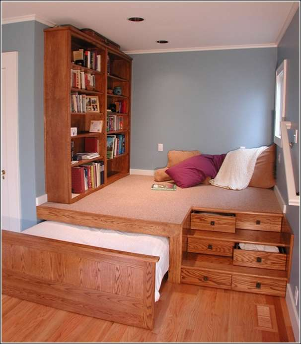 small bedroom space saving ideas