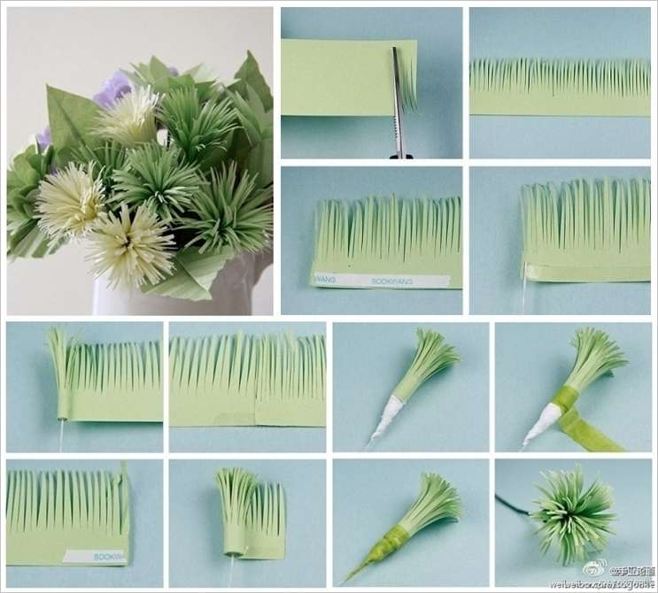 these paper flowers are easy to craft and spectacular in look