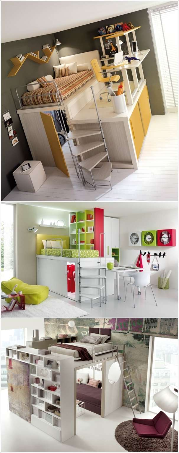 5 amazing space saving ideas for small bedrooms for Cool small bedroom designs