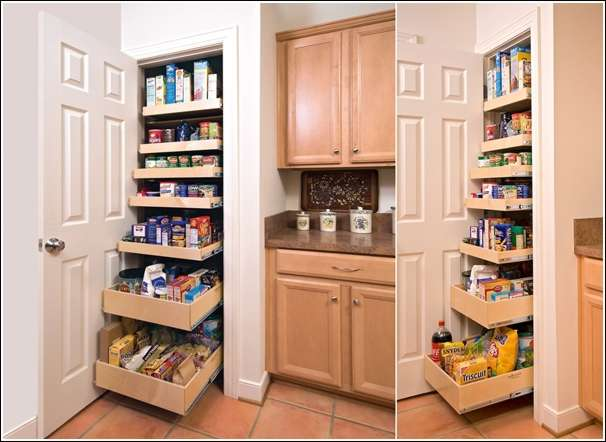 cool and creative kitchen pantry designs