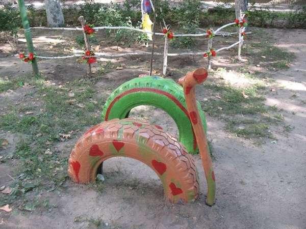5. Decorative Tire