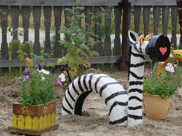 8. Zebra Tire