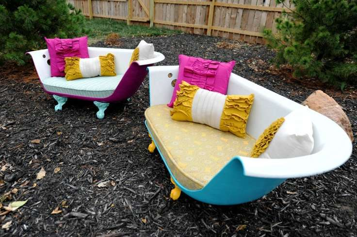 Vibrant fancy Claw Foot Tub Sofa