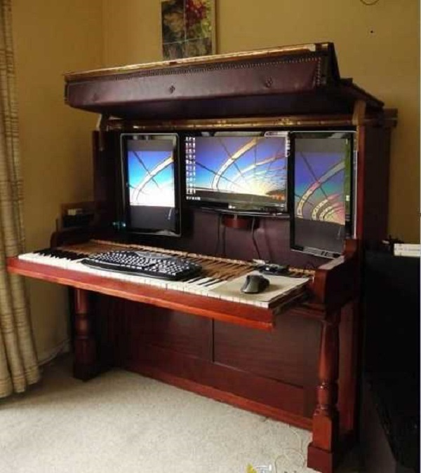 amazing computer table ideas you can create from home