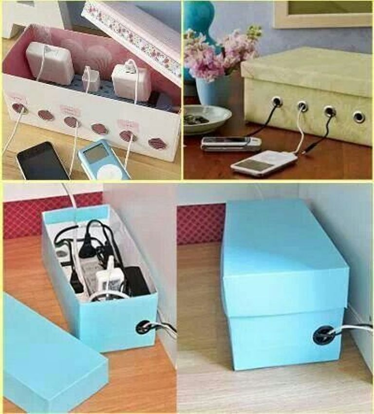 DIY- Shoe Box Charging Box Organizer Shoe Box House Design on small house house design, shoe box house craft, shoe boxes with a z, cardboard house design, shoe box house furniture, shoe box stage design, paper box design, shoe logo design, shoe box living room design, best friend shoe box design,