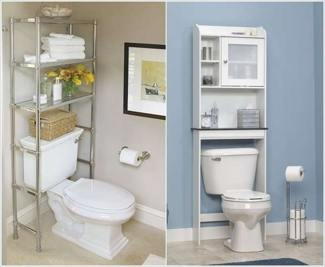 5 completely awesome organization hacks for small bathrooms for Small bathroom hacks