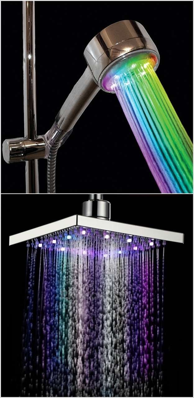 5 Truly Cool Shower Head Designs to Update Your Bathroom