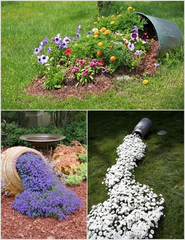 10 creative garden bed ideas to feast your eyes on for Backyard flower bed ideas