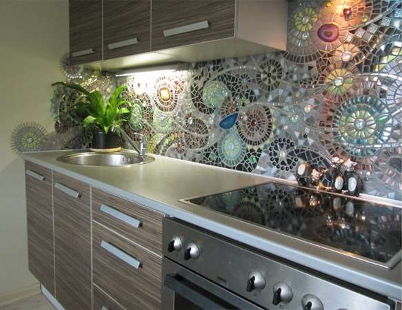 30 Amazing Design Ideas For A Kitchen Backsplash: 10 Totally Awesome Budget Friendly Ideas To Spruce Up Your