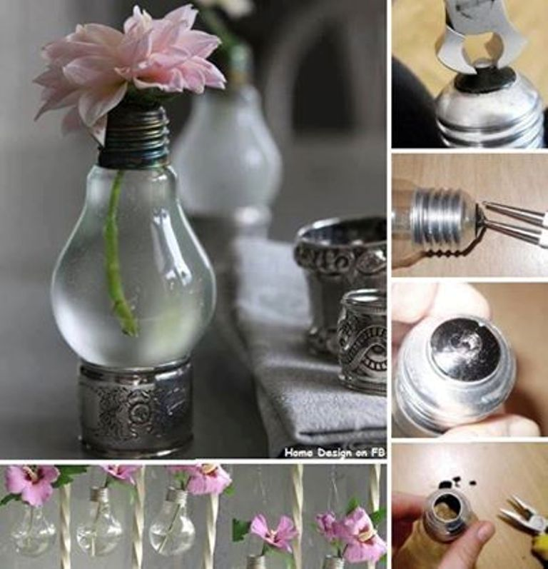 light bulb art