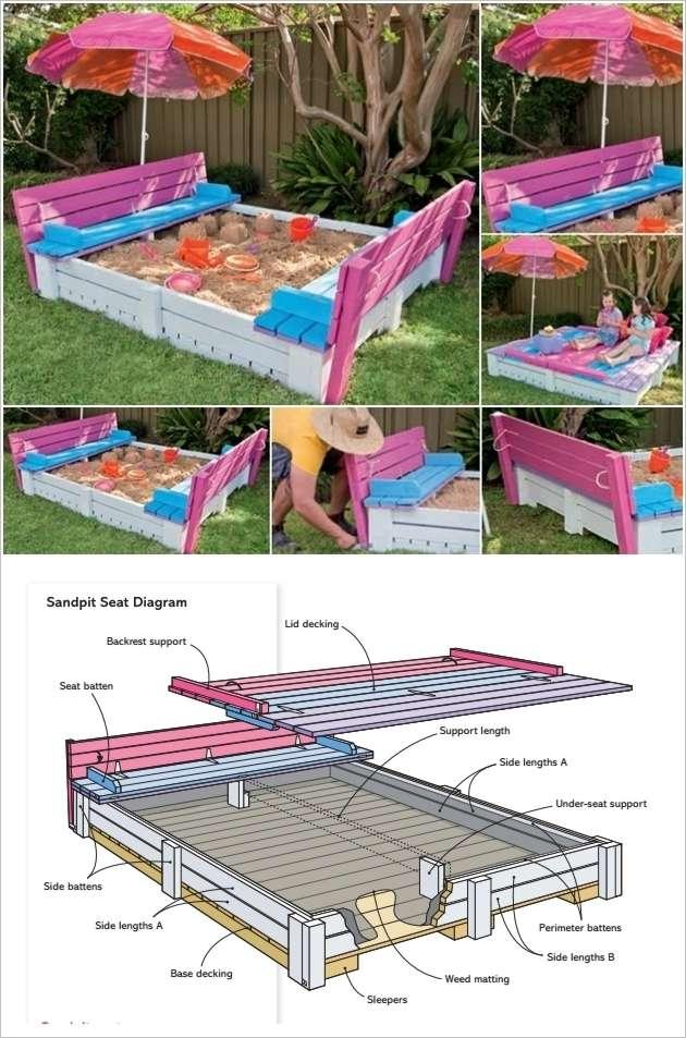 sandbox design ideas - Sandbox Design Ideas