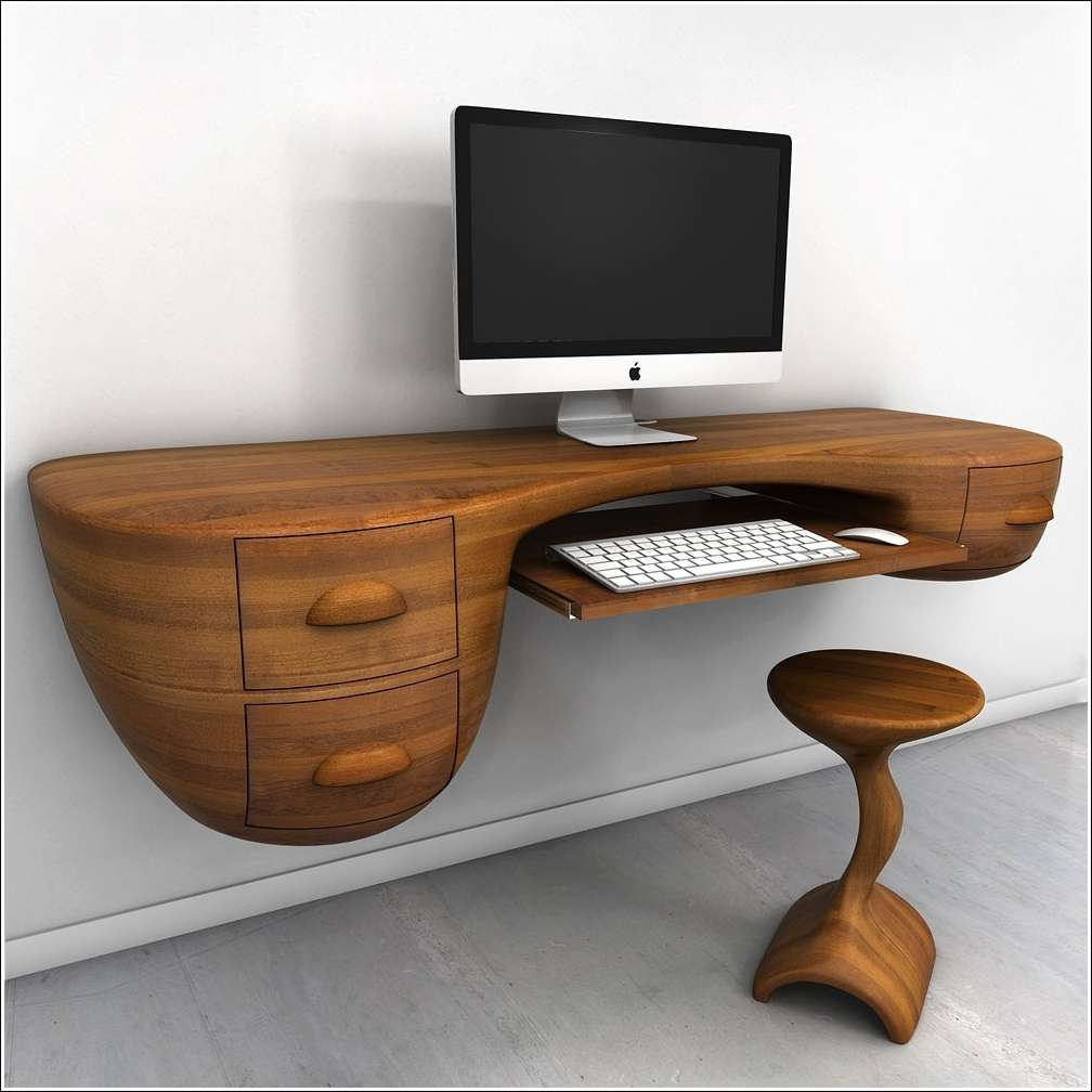 Amazing Home Office: 5 Cool And Innovative Computer Desk Designs For Your Home