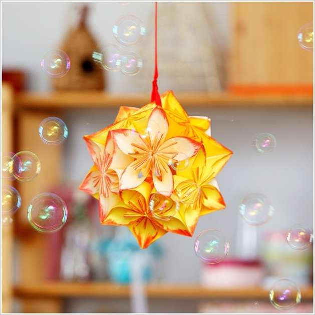 This origami flower ball is a great project to try 1 mightylinksfo