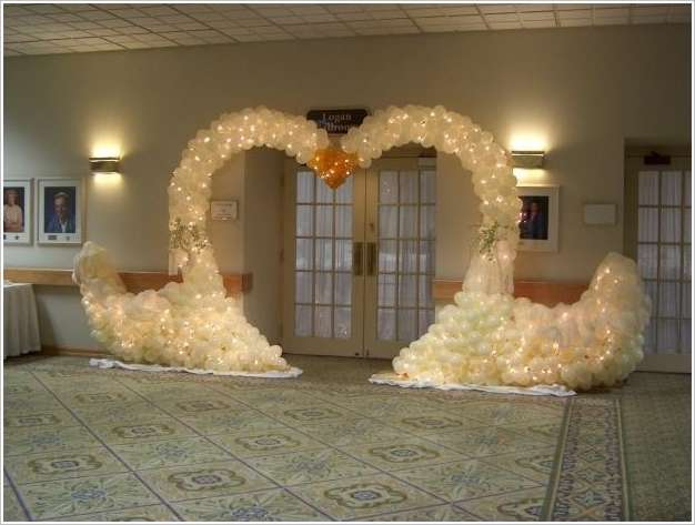 5 balloon wedding decor ideas that are just fabulous - Decoration mariage ballon ...