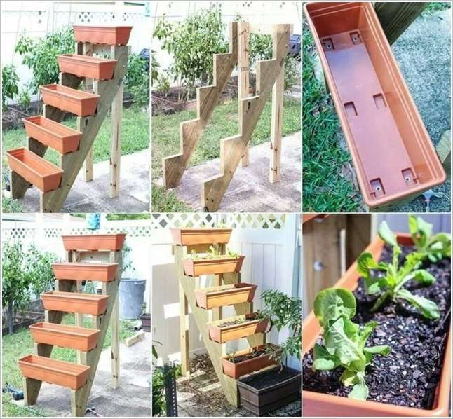 5 diy vertical gardens that you ll love to have in your home for Vertical garden planters diy