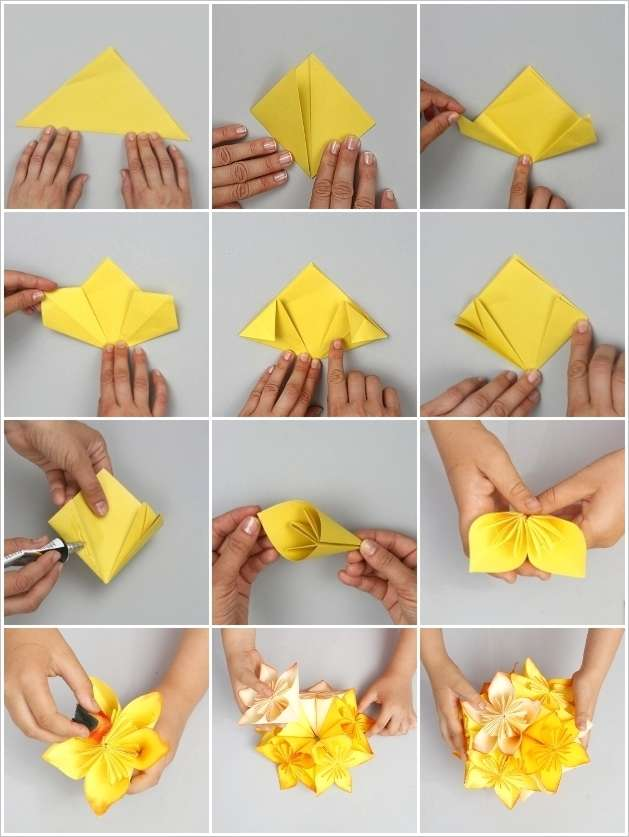 Origami Flower Ball Great Project Try