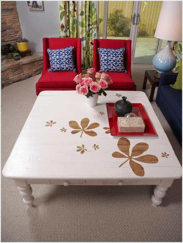 Spectacular Coffee Table Painting Ideas That You D Like To Try