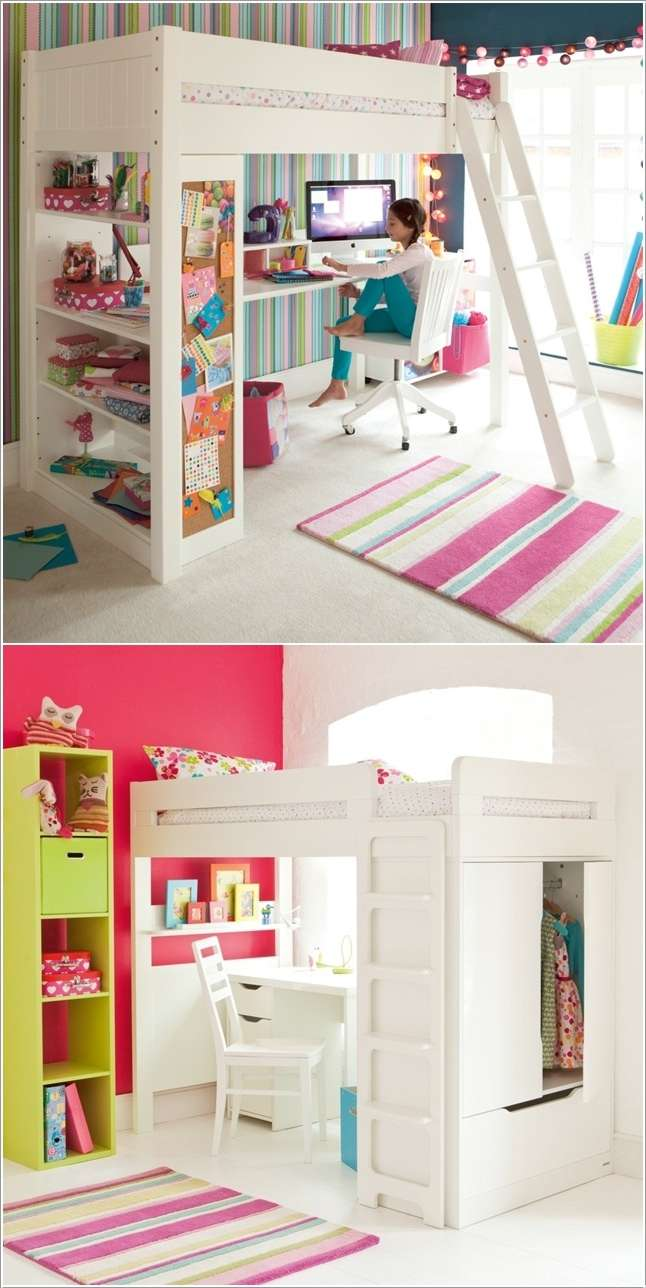 5 space saving ideas to add a study space to your kids for Space saver kids room