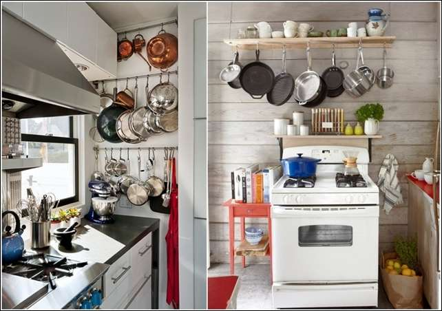 5 creative ideas to design a small kitchen for Creative small kitchen ideas