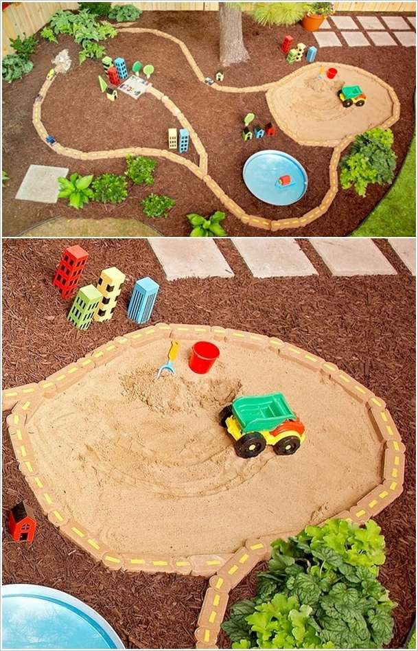 5 Diy Sandbox Ideas For Your Kids Interior Design