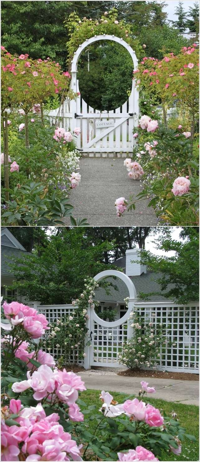 5 unique garden gate designs that you 39 ll surely like for Unique garden designs