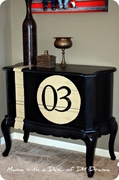 Numbered Chest from